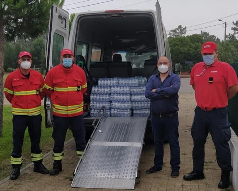 Doação Bombeiros Voluntários de Ílhavo