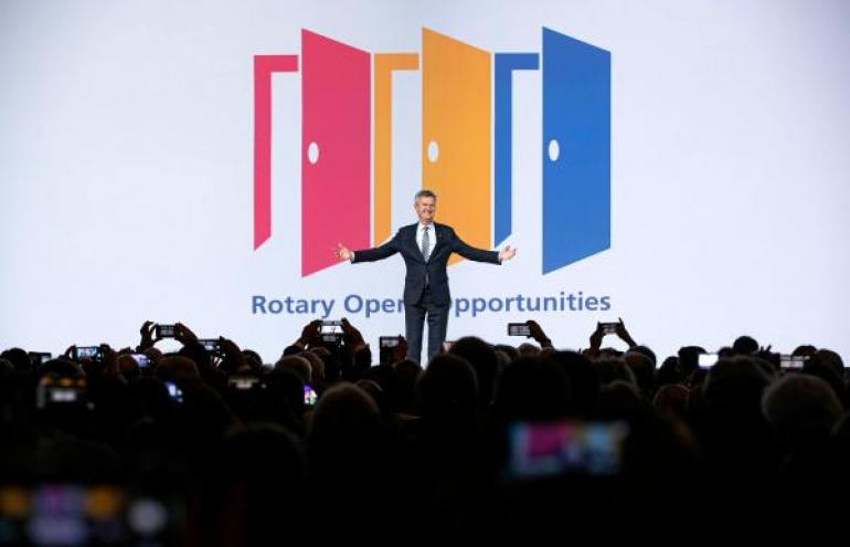 O Rotary abre oportunidades